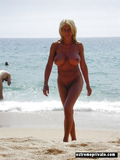 Sexy nudist Moms captured on camera