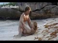 extreme-art-sex-of-horny-couple-on-beach