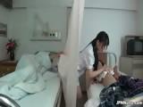 Japanese nurse loves sucking two part3