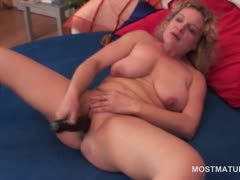 gorgeous-blonde-mature-dildo-fucking-herself-with-lust