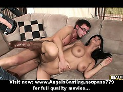 busty-brunette-with-boots-fucking-and-sucking-cock-in