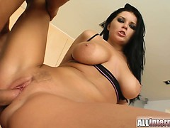 a-super-hot-big-titted-brunette-pleasures-two-guys-she