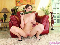 Nelly Rubs Oil All Over Her Skin Before Spreading That Sexy
