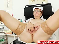 head-nurse-practitioner-in-glasses-teases-her-muff