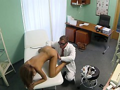 perfect-brunette-babe-pussy-fucked-by-doctor