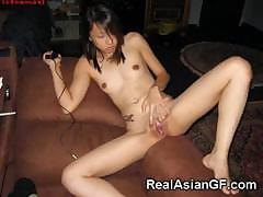 Asian Teen GFs Love Cum!