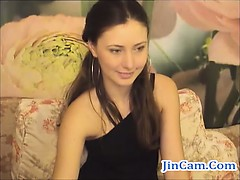 gorgeous-hairypussy-brunette-masturbates-on-webcam