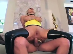 blonde-fucking-in-latex-stockings-and-a-garter