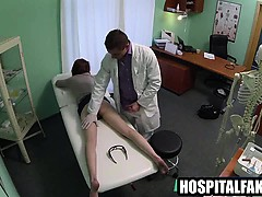 foxy-brunette-patient-gets-massaged-by-her-doctor