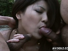 brunette-hottie-hitomi-nakagawa-banged-outside-uncensored