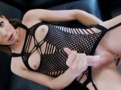 Tight Tranny Sienna Grace Jerks Off And Masturbates Her Dick