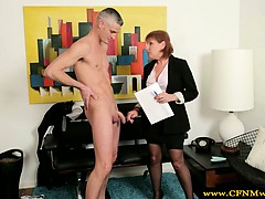 cfnm-femdom-mature-makes-dude-strip
