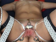 extreme-tortured-299-orgasms-bondage-vibrator-tied-clitoris