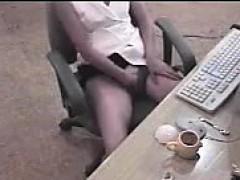 asian-secretary-caught-masturbating