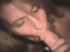 Filthy Blonde Crack Whore Sucking Dick Point Of View