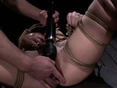 bound-slave-slut-throat-fucked