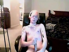 Gay Clip Of With The Bleach Blondie Hair And Lovely Rosy Bri