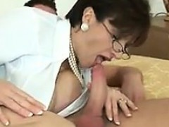 busty-milf-playing-with-cock