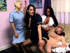 young-cfnm-maid-servicing-older-dude