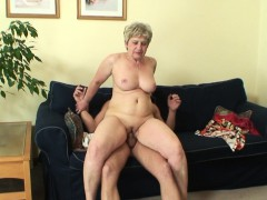 lonely 60 years old granny swallows massive penis granny sex movies