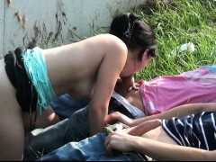 teenage-girl-public-gangbang