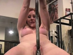 redhead-cougar-fucks-her-barbell