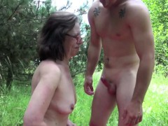 german-mom-caught-outdoor-and-fuck-by-young-boy