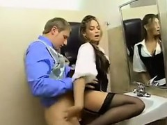 latina-fucked-in-the-office-washroom