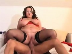 Big Mature Woman Is Hungry For Cock