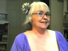 sweet blonde granny show us her skills granny sex movies