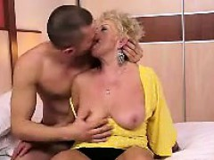 chubby blonde granny is really horny granny sex movies