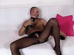 perverted-guy-loves-to-show-off-in-his-nylon-tights