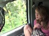 Rough dom throatfucks innocent stranded teen