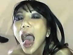 Bukkake For A Beautiful Whore From Thailand