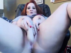 Curby Ginger Webcam Girl With Huge Tits