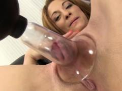 Masturbating Babe With Toys Orgasming
