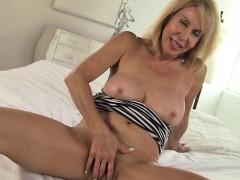 erica lauren cute striped dress striptease