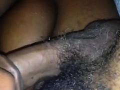 big-black-woman-sucking-her-mans-cock