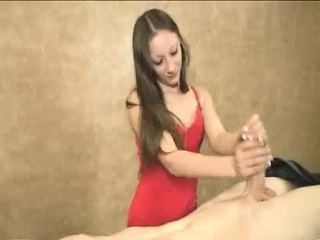 Teen Babe Is So Much Excited To Offer Guys Handjobs