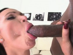 Nikki Benz deep-throats and fucks more