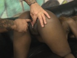 Black Girl Fucked Roughly By White Guys In A Threesome