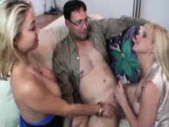 bored wives take advantage of young cock while hubbys away