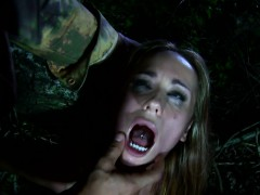Lost Girl Brutal Fucked Outdoors