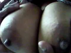 Playing With Large Indian Breasts Close Up
