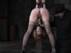 stocks-bondage-treatment-for-blonde-skank
