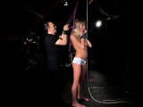Tormenting a whinning slave
