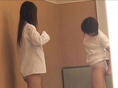 Japanese Schoolgirls Clothes Changing