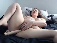 hot-bbw-housewife-stephanie-masturbates-pussy