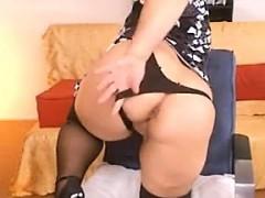 big granny shows her tits