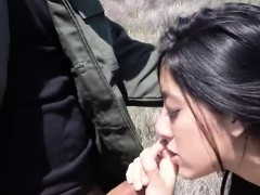 Petite Latina Banged By Border Patrol Officer At The Border
